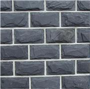 Split Face Black Slate wall tile