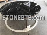 Nero Marquina Marble Table