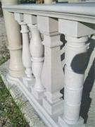 Trani Bronzetto Limestone Balustrade Railings