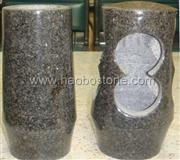 Granite, marble stone vases lamps HBV-514-a