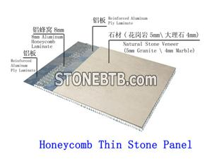Honeycomb Thin Stone Panel