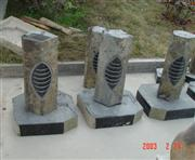 Granite outdoor lamps, Japanese Lantern
