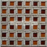 Travertine Glass Mosaic