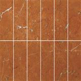 Marble mosaic red alicante