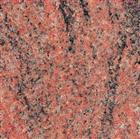 Granite tiles Multicolor Red