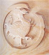 Sandstone Carving Embossment Etching