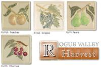 Rogue Valley Harvest Series- Relief tiles