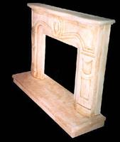 Antique limestone fireplaces