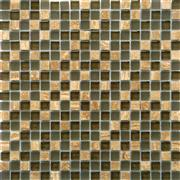 Glass Mix Stone Mosaic For Wall