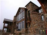Exterior Stone Wolf Creek Moss Home 0432