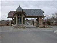 Exterior Stone  Mountian Valley Gate House 0464