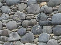 Exterior Stone Grey River Rock  0467