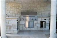 Exterior Stone   Out door Kitchen  0212
