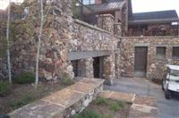 Exterior Stone  Back Of Club House  0312