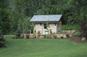 Exterior Stone  Shed House  0251