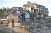 Exterior Stone  Wolf Creek Moss Home  0290