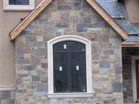 Exterior Stone   Indian Ledge House  0462