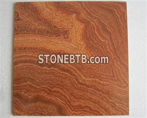 Yellow Wooden Marble Tile,Slab