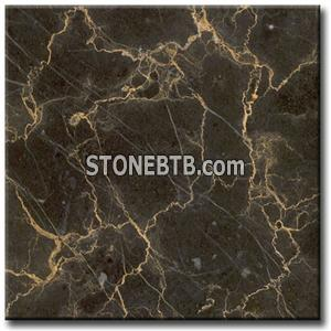 China Marron Emperador, Marble Tiles