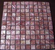 Shell Mosaic Tile, Shell Mosaic Panel, Abalone Shell Mosaic