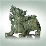 Animal sculptures stone carvings