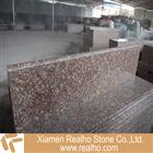 g687 granite steps,peach red granite stairs
