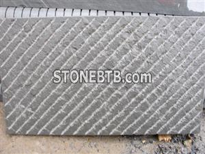 Black sandstone chiselled 1