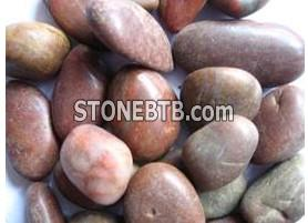 Red pebble