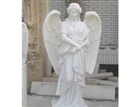 stone carving angel sculpture