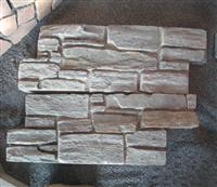 Concrete wall ledge stone