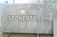 Turkey white marble polished tiles, first grade