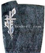 colored drawing gravestone CH-018
