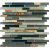 Slate Mix Glass Mosaic