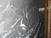 Grey white marble slab