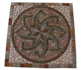 Natural Stone Mosaic Medallion