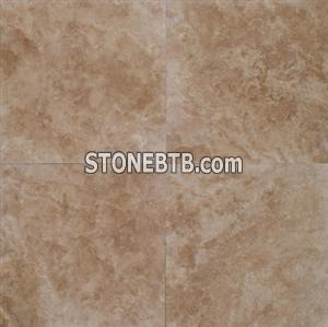 Cafe Light 18x18 Honed and Filled Travertine Tile