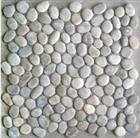 White pebble tile/pebble mosaic