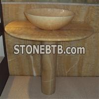 Onyx Stone Basin, Bathroom Sink