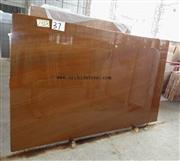 Golden Wooden Marble Slab, Golden Grainy Marble