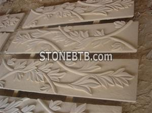 Sandstone Leaves Relief