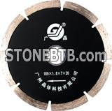 segmented diamond saw blade for stone 105mm