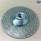 125mm M14 brazed diamond double side marble blade cutting disc