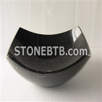 Marquina Black Marble Sink