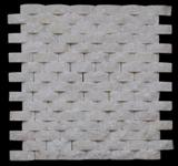 White Quartzite China Mosaic 2