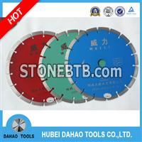 dry cutting diamond saw blade