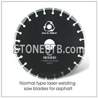 Laser Welding Diamond Blades for Asphalt