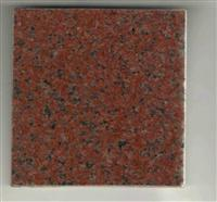 Indian Red middle flower polished tile red granite