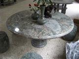green marble bench table stone tables