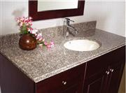 Bainbrook Brown Bathroom Vanitytops