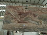 Monica red marble slab